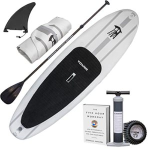 Click here for the current Amazon price for Tower Inflatable Paddle Board button