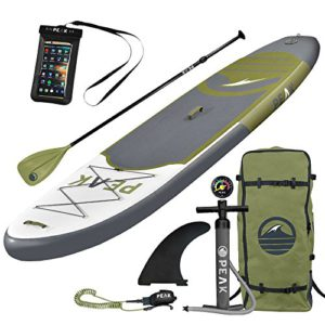 Click here for current Amazon price for PEAK Inflatable Paddle Board button