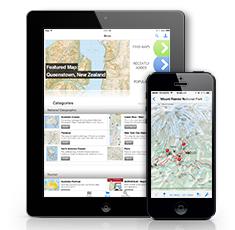 fly fishing map app
