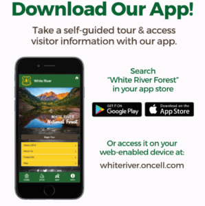 US Forest Service White River Forest App