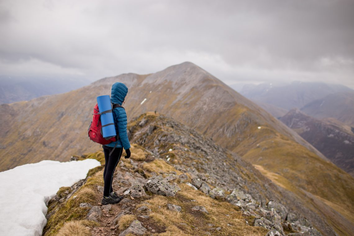 Challenging hikes in Vail Colorado