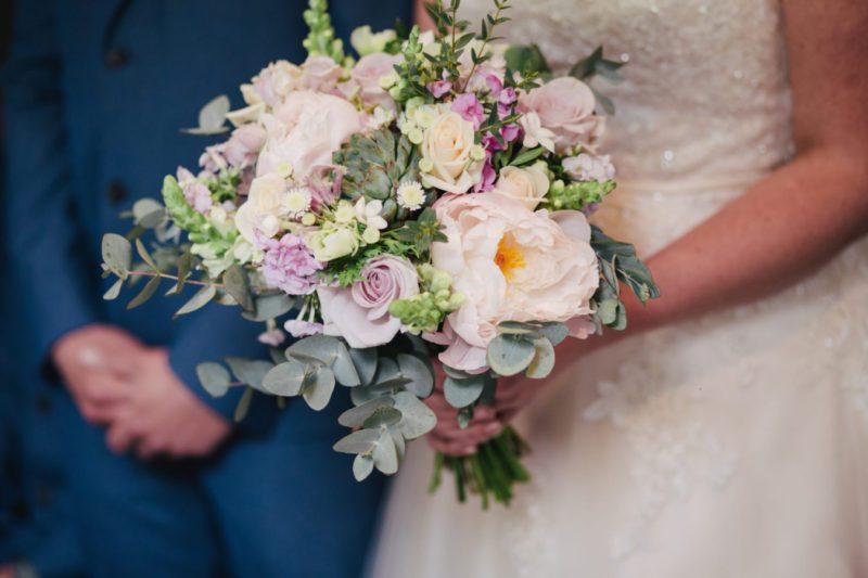 photo of a wedding bouquet