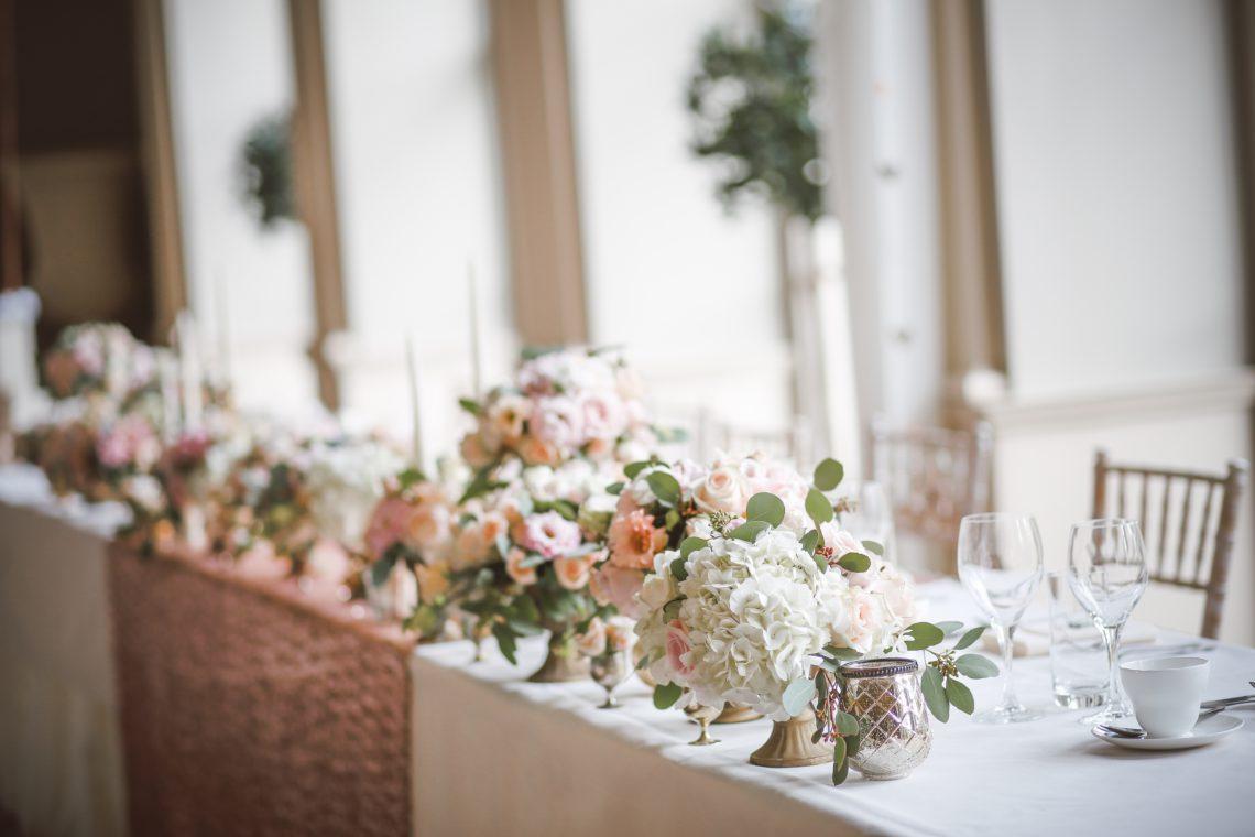photo of wedding table
