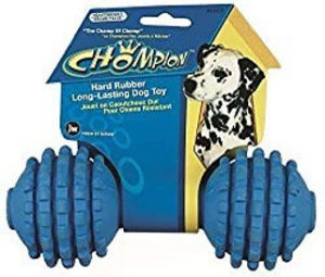 Click here to buy the Chompion Chew Dog Toy on Amazon Button