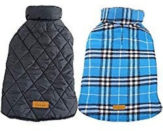 Click to buy Kuoser Reversible Dog Coat on Amazon button