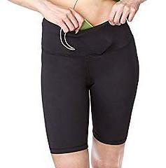 womens yoga long shorts