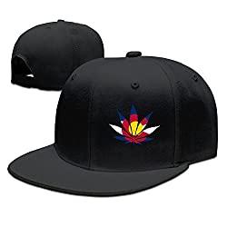 Colorado Weed Flag Hat