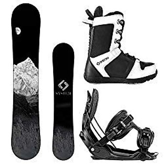 camp seven system mtn complete snowboard package