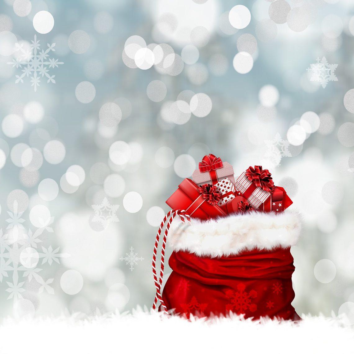 photo of santa sack with toys