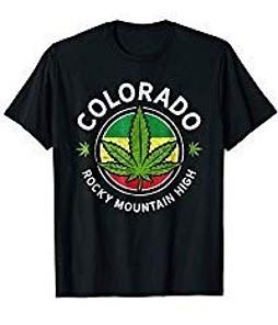 Colorado cannabis-shirt