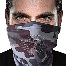 Neck Gaiter With Breathing Holes