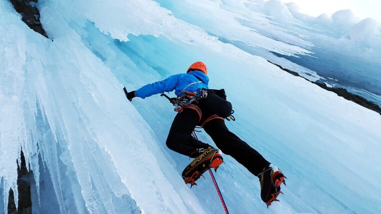 Ice Climbing Vail Colorado
