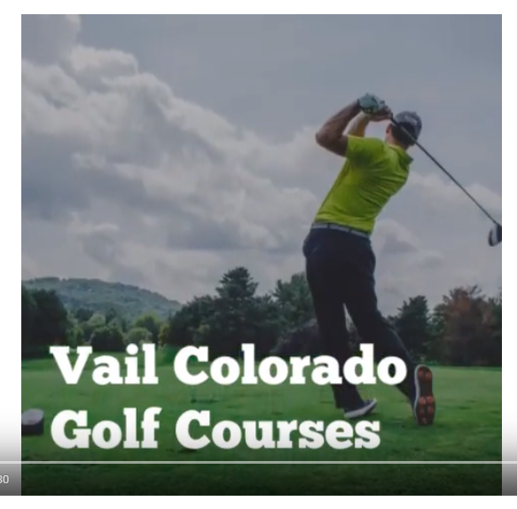 Vail Colorado Golf Courses
