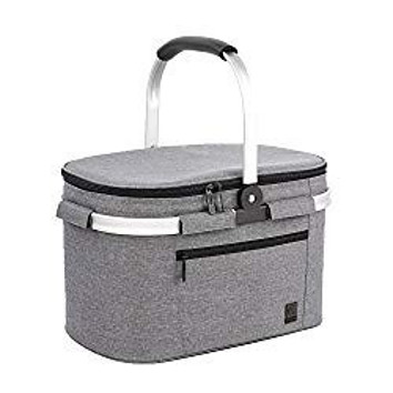 ALLCAMP Large Insulated Picnic Basket