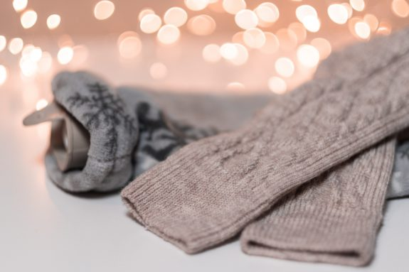 warm, wool socks