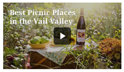 YouTube video about Vail Colorado picnic spots