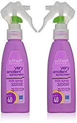 Alba Botanical Spray sunscreen