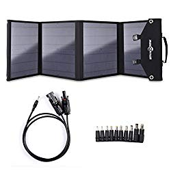 ROCKPALS Foldable 60W Solar Panel Charger