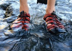 whitewater rafting shoes