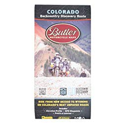 Butler Map for Colorado Backcountry Discovery Route