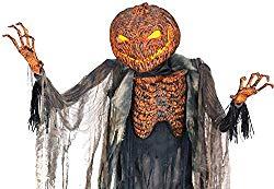 Scorched Pumpkin Scarecrow