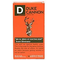 Duke Cannon Eliminating Scent Soap