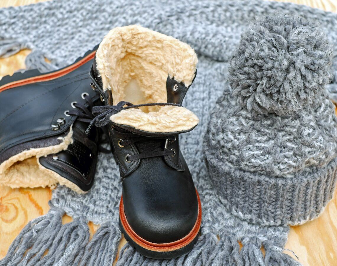 Warm waterproof winter boot