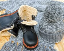 Warm waterproof winter boot