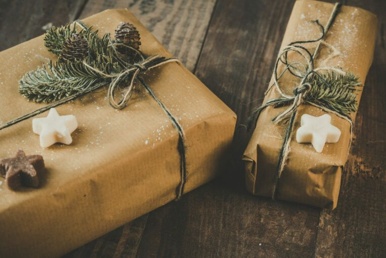 Winter Themed Holiday Gift Boxes